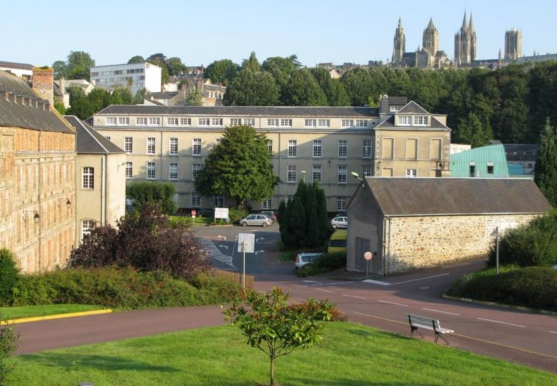 vue sur l'hôpital de Coutances